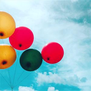 Visual Icebreaker balloons