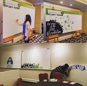 graphic recording ibm, graphic facilitation for ibm, minh ngo, tanya gadsby, visual scribes, live scribing, graphic recorder vancouver bc, graphic recorder victoria bc, visual recorder