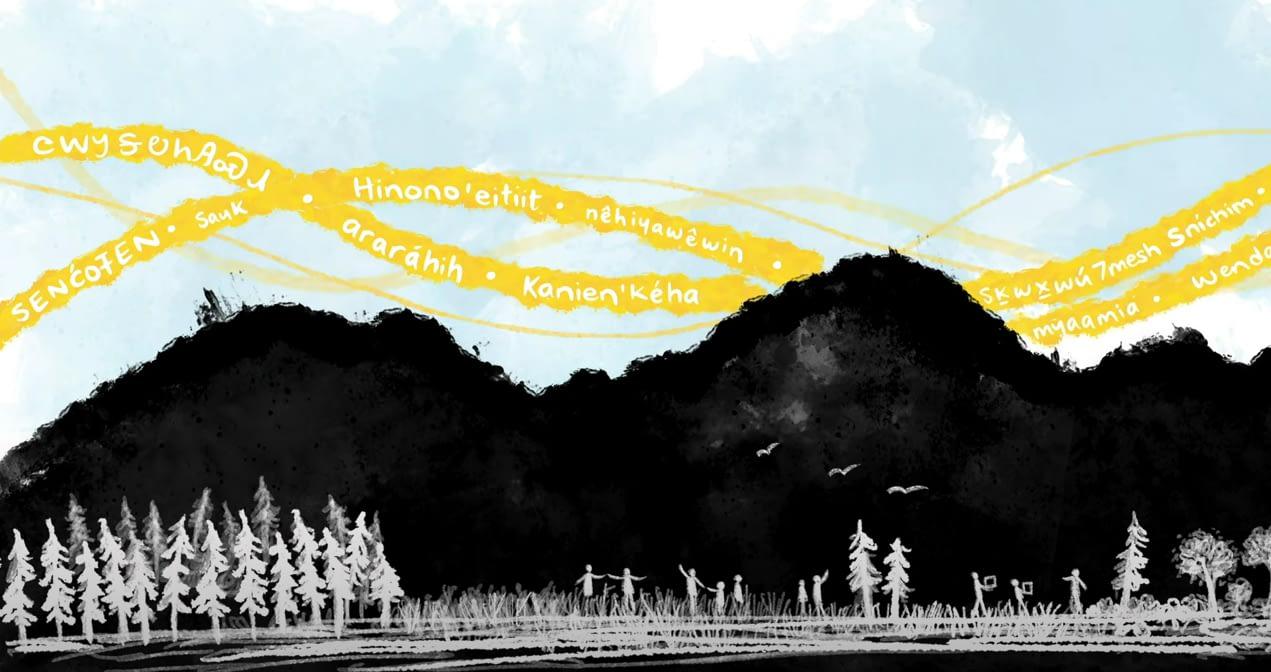 Indigenous languages, whiteboard animation, language revitalization, explainer video
