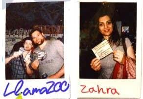 Polaroids for Graphic Recording 1